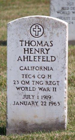 Thomas Henry Ahlefeld