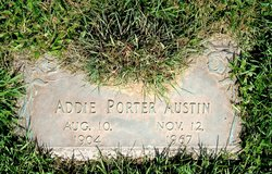 Addie Vella <I>Porter</I> Austin