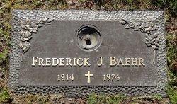 Frederick J Baehr