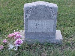 """Alma C. """"Al"""" Archer"""
