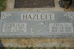 Lucille O. <I>Foye</I> Hazlett