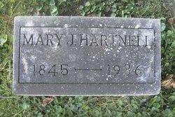 Mary J. <I>Hunt</I> Hartnell