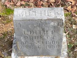 Edith P Pruett