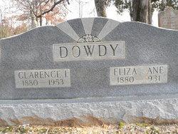 Eliza Jane <I>Shannon</I> Dowdy