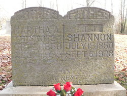 Martha Francis A <I>Chilcutt</I> Shannon