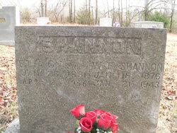 Etta Gertrue <I>Shockley</I> Shannon