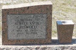 Aubrey Deneise <I>Knox</I> Griswold