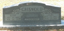 Elba <I>Twitchell</I> Griswold