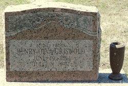 Henry Alva Griswold