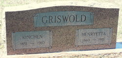 Kinchen H Griswold