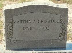 Martha Annie Griswold