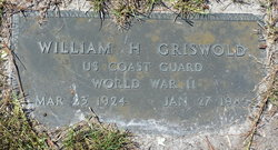 """William H """"Billy"""" Griswold"""