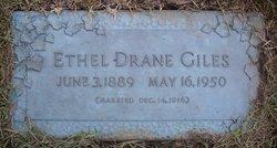Ethel <I>Drane</I> Giles