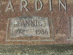 Fannie Rardin