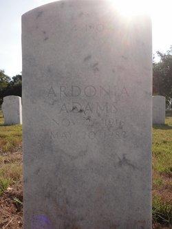 Ardonia <I>Reaves</I> Adams