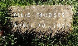 Ollie M. <I>Back</I> Childers