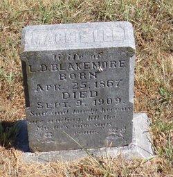 "Martha Lee ""Maggie"" <I>Hodges</I> Blakemore"