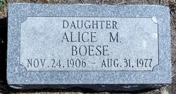Alice May Boese