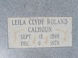 Leila Clyde <I>Roland</I> Calhoun