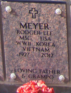 Sgt Rodger Lee Meyer