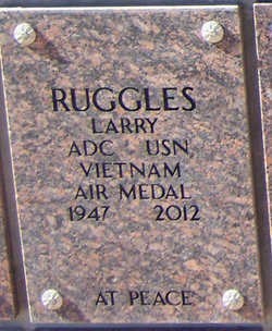 "CPO Lloyd C ""Larry"" Ruggles, Jr"