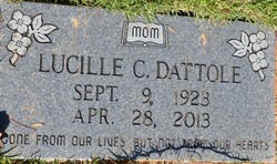 Lucille C <I>Wilburn</I> Dattole