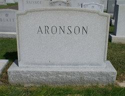 Fannie <I>Webber</I> Aronson