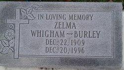Zelma <I>Whigham</I> Burley