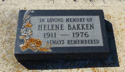 Helene <I>Tabler</I> Bakken