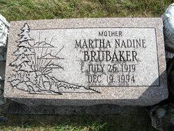 Martha Nadine Brubaker