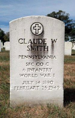 Claude W Smith