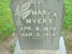 Mary Adelle <I>Nasholds</I> Myers