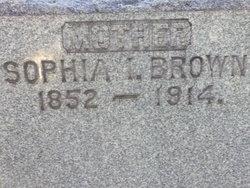 Sophia Isabella <I>Gallagher</I> Brown