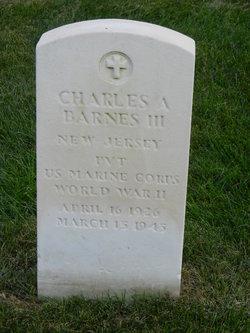 Charles A Barnes, III