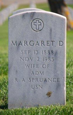 Margaret Vance <I>Dean</I> Spruance