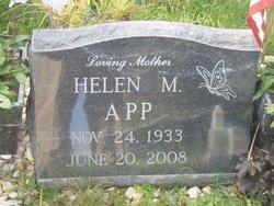 Helen Marie <I>Turner</I> App
