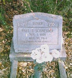 Paul Fritz Schneider