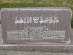 """Joseph Christopher """"Joe"""" Leinweber Sr."""