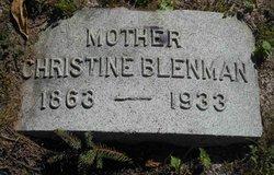 Mrs Christine <I>Morrison</I> Blenman