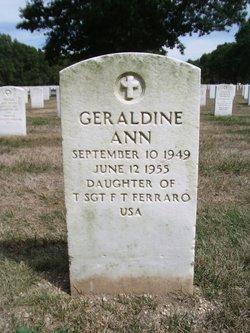 Geraldine Ann Ferraro