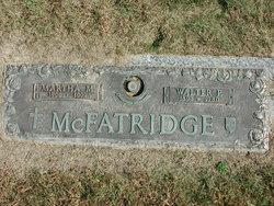 Martha Magdalena <I>Weger</I> McFatridge