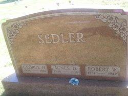 Agnes Ernestine <I>Detert</I> Sedler