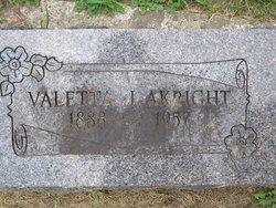 Valetta Jeanette <I>Faith</I> Akright