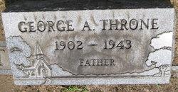 George Allen Throne