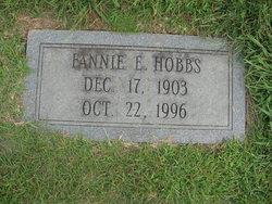 Fannie Elizabeth <I>Hinson</I> Hobbs