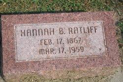 Hannah B. <I>Braner</I> Ratliff