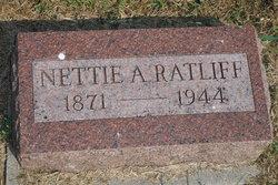 Nettie A. <I>Richardson</I> Ratliff