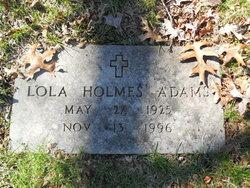 """Lola Beatrice """"Nana"""" <I>Holmes</I> Adams"""