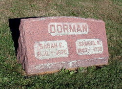 Sarah Elizabeth <I>Hoy</I> Dorman