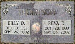 Reva Dean <I>Burdick</I> Thompson